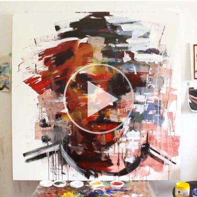 Art Battle: Yared Nigussu – Artist & Champion